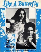 Mac & Katie Kissoon Like A Butterfly Sheet Music 1975