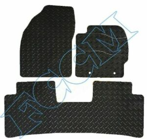 TOYOTA PRIUS (3 x PCS TAXI VERSION ) 2016 - 2020 RUBBER CAR MATS FULLY TAILORED.