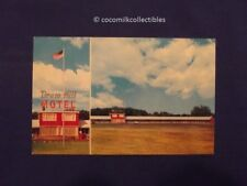1950's Postcard Drum Hill Motel Chelmsford Ma Massachusetts Junction Rt 3 and 4