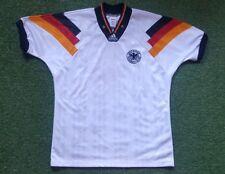 Deutschland Trikot L Adidas shirt DFB 1992 EM Dänemark 3 Brehme
