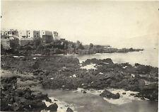 Ville à identifier Tirage argentique 12x17cm Vintage ca 1920