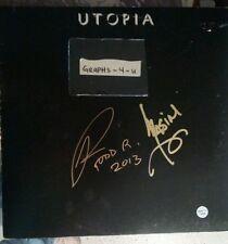 Todd Rundgren signed Album proof COA  D Kasim Sulton Utopia