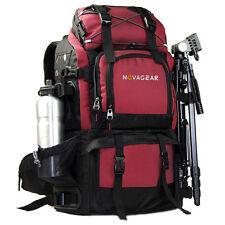 Large Waterproof DSLR SLR Camera Backpack Bag Rucksack 17'' Laptop Travel Bag