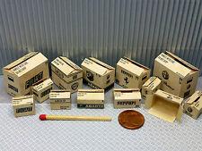 """13 cajas """"Italy"""" en 1:24-1:25 para diorama, tren de ranura, enormemente, taller"""