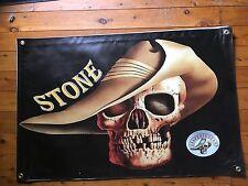 STONE POSTER wall hanging mancaveidea home decor man cave bar banner & sticker