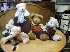 6 Boyds Bear Colllection Lot With Tags