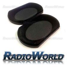 "4x6"" Speaker Grills/Covers Universal Fitment Pair Car/Caravan/Home"