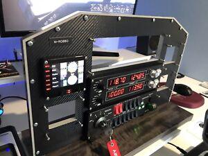 BUILT TO OWN SPEC Carbon Fibre Effect 'cockpit' Flight Simulator 2020 Saitek
