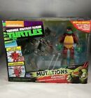 RAPHAEL WITH GROUND POUNDER BATTLE SHELL ACTION FIGURE TMNT MUTATIONS 2015 NEW