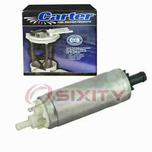 Carter In-Tank Electric Fuel Pump for 1984-1987 Renault Alliance 1.4L 1.7L sp