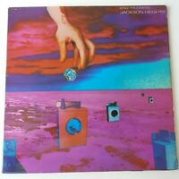 Jackson Heights - King Progress - Vinyl LP UK 1st Press Pink Scroll EX/EX+