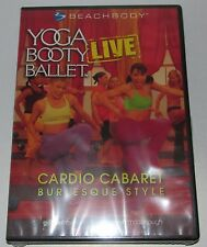 BeachBody Yoga Booty Ballet Live Cardio Cabaret Burlesque Style DVD NEW sealed