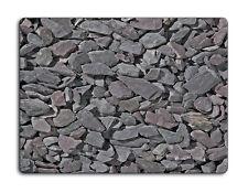 Work top saver, Glass Chopping board 40 x 30 Slate rocks design