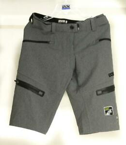IXS Size 38 Sever 6.1 Graphite Gray BC Women Shorts Bike DH MTB Freeride NEW