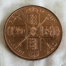 More details for 1937 edward viii copper proof pattern double florin