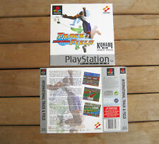 INTERNATIONAL TRACK & FIELD (1996) PLAYSTATION 1 COVER ORIGINALE, NO DISCO