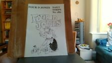 More details for four d jones by maddocks daily strips no. 180 reprint comic facsimile (1960)