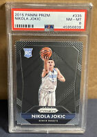 2015 Panini Prizm #335 Nikola Jokic RC Nuggets Rookie PSA 8 NM-MT PLEASE READ