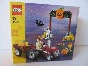 LEGO Seasonal Gift 40423 HALLOWEEN HAYRIDE with Tractor Pumpkin Skeleton Bat Etc