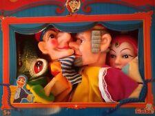 Simba 4 Kasperle Puppen Set Kasperletheater Handpuppen  Theater Kasperltheater