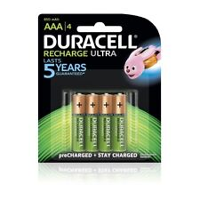 NEW GENUINE DURACELL RECHARGE ULTRA NiMH AAA 850mAh 1.2V 1PACK = 4x BATTERIES