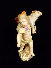 FABULOUS 18th OR 19th CENTURY SIGNED KPM BERLIN PORCELAIN SHEPHERD BOY FIGURINE