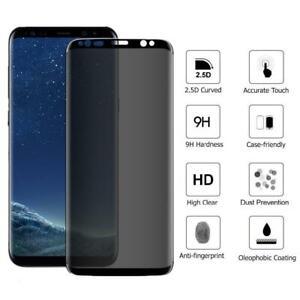 Samsung Galaxy S9 Plus genuine 100% Privacy Glass 10D 9H Screen Protector Guard