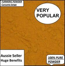 100% Turmeric Curcumin Superfood Powder Spice Curcuma longa Anti Inflammatory