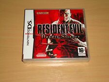 Juego Nintendo DS Resident Evil Deadly Silence NDS