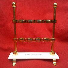 Vintage Czech & Speake Gold-Plated Edwardian Toothbrush Holder