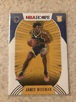 2020-21 Panini NBA Hoops JAMES WISEMAN RC rookie card #205 Golden State Warriors