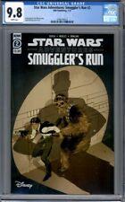 Star Wars Adventures: Smuggler's Run #2   IDW Disney  Han Solo 1st Print CGC 9.8