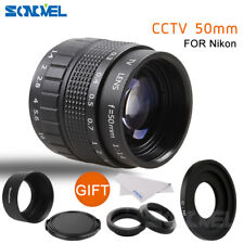 Fujian 50mm F1.4 CCTV Movie lens + C Mount to Nikon AW1 S2 J4 V3 V2 V1 J3 J2 J1