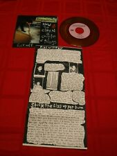 """Propagandhi How To Clean A Couple O' Things 1993 7"""" 45 RPM Pigs Flag ORANGE EX"""