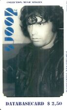 RARE / CARTE TELEPHONIQUE - THE DOORS : JIM MORRISON / PHONECARD LIMITED 99 EX.