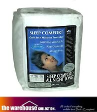 ANTI DUST-MITE SLEEP COMFORT KING MATTRESS PROTECTOR THICK QUILTED FULLY FITTED