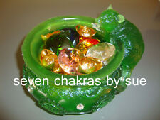Feng Shui - Jewel Spouting Mongoose Wealth Bowl with Ingots & Jewels