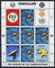 Paraguay 1984 Raumfahrt Space Pioneer Weltraum 3707 Kleinbogen Postfrisch MNH
