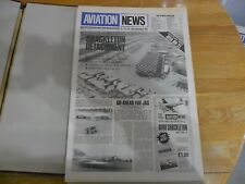 AVIATION NEWS V11 #4 1982 AEROPLANE AIRPLANE PLANES SCALE PLANS AVIA BH-21