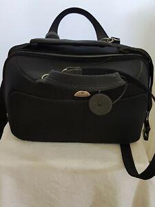 Samsonite Beautycase Kulturtasche Beautykoffer Handgepäck dunkelblau Reisetasche