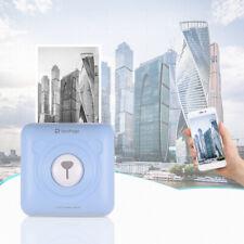 GOOJPRT A6 PeriPage Mini Pocket Wireless BT Bluethooth USB Thermal Printer E1U7