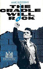 "Patti LuPone ""CRADLE WILL ROCK"" John Houseman / Blitzstein 1985 London Playbill"