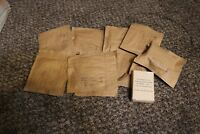 lot of 10 unissued WWII M-199 throat microphone straps mint NOS