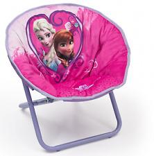 Delta Children Disney Frozen Saucer Chair, Kids Collapsible Seating Chair