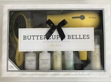 NIB Drybar Buttercup & Belles Hair Blow Dryer 7 Pc Volume Boosting Set