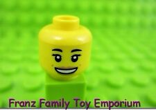 LEGO New Female Minifig HEAD Open Mouth/Dimple Series 17 Gourmet Chef Part