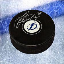 Steven Stamkos Tampa Bay Lightning Signed Hockey Puck