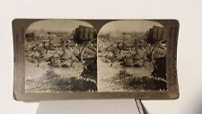WWI, German Ammunition Depot Destroyed by French, France, Keystone Stereoview