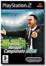 FOOTBALL MANAGER CAMPIONATO 2006 PLAYSTATION 2 GAME PS 2 GIOCO NUOVO SIGILLATO