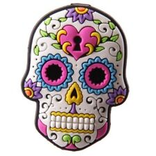 Candy Skull Day of the Dead Mexican Fridge Magnet White Key hole Heart design